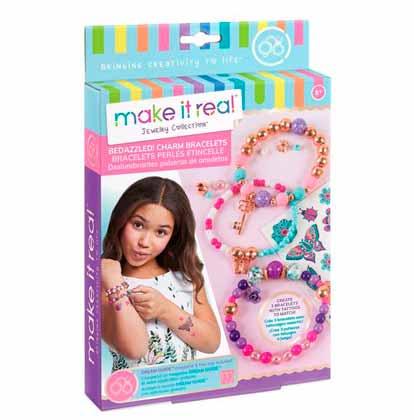 Make it Real: Набор для создания шарм-браслетов «Цветочная фантазия»