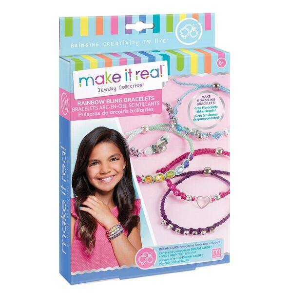 Make it Real: Набор для создания шарм-браслетов «Яркая радуга»
