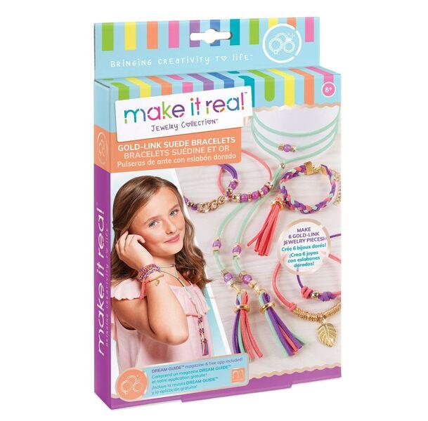 Make it Real: Набор для создания шарм-браслетов «Золотое сияние»