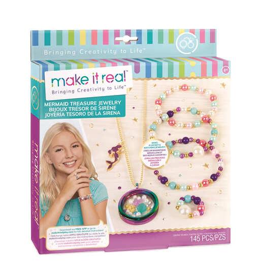 Make it Real: Набор для создания украшений «Сокровища русалки»