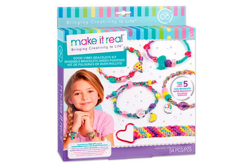 Make it Real: Набор для создания шарм-браслетов «Волны позитива»