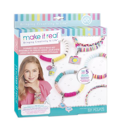 Make it Real: Набор для создания шарм-браслетов «Летние вибрации»