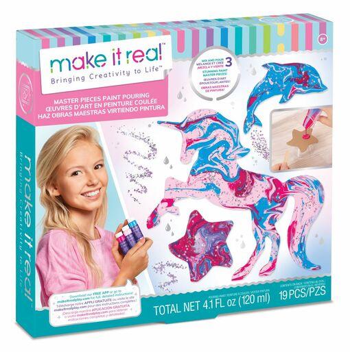 Make it Real: Набор для творчества «Красочные шедевры»