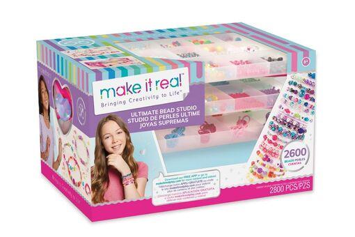 """Make it Real: Набор для создания браслетов из бисера """"Своя студия"""""""