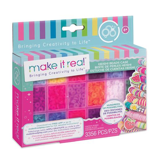 Make it Real: Большой набор для создания браслетов Хейши «Сочные цвета»