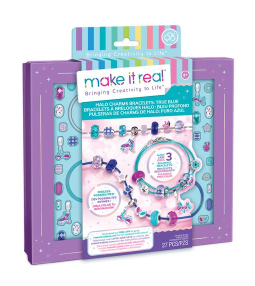 Make it Real: Набор для создания браслетов «Голубое сияние»