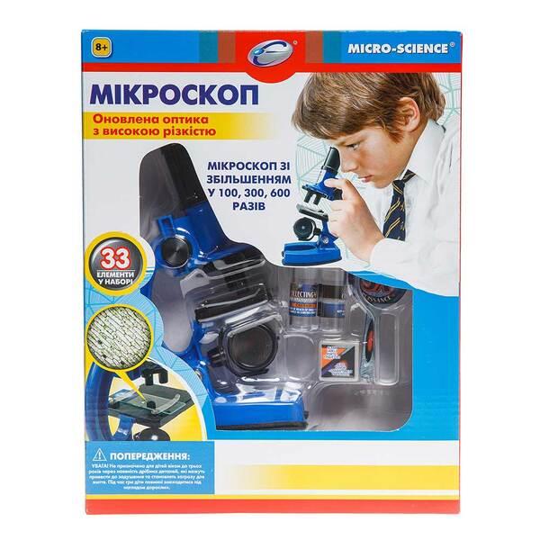 Синий микроскоп EASTCOLIGHT (увеличение до 600 раз)