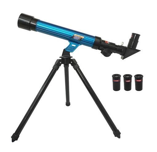Астрономический телескоп со штативом EASTCOLIGHT (увеличение до 40 раз)