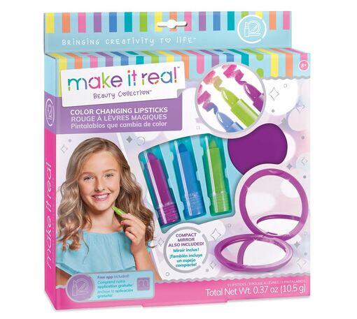 Make it Real: Набор из трех блесков для губ, что меняют цвет «Маленькая модница»
