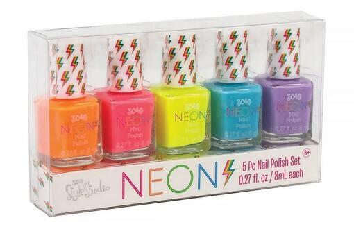 Набор из пяти лаков для ногтей «Неоновая вечеринка»