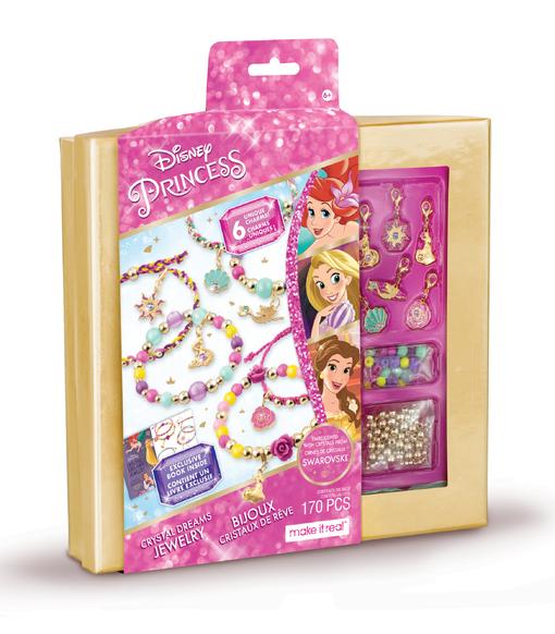 Make it Real: Набор для создания браслетов с кристаллами Swarovski «Принцессы Диснея»