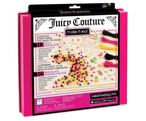 """Juicy Couture: Набор для создания шарм-браслетов """"Фруктовая страсть"""""""