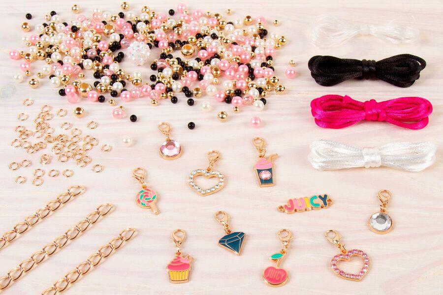 Juicy Couture: Набор для создания шарм-браслетов «Розовый звездопад»
