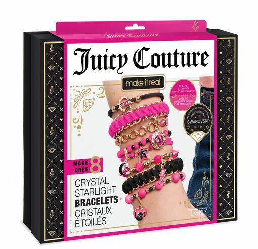 Juicy Couture: Набор для создания браслетов с кристаллами Swarovski «Неоновый блеск»