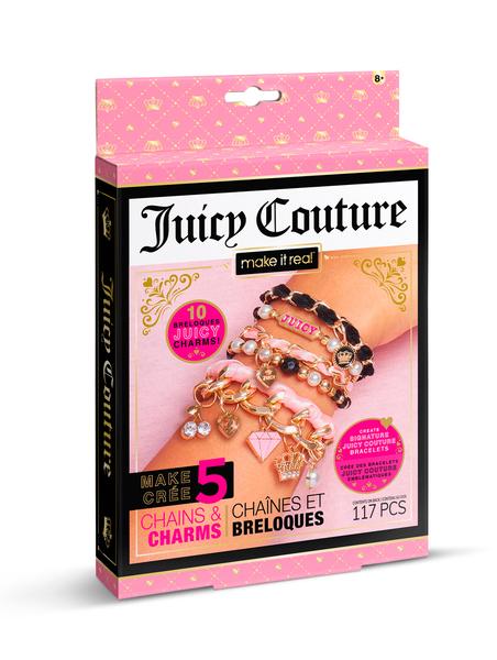 Juicy Couture: Мини-набор для создания шарм-браслетов «Королевский шарм»