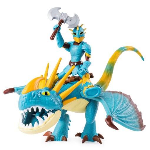 Как приручить дракона 3: набор из дракона Громгильды и всадника Астрид