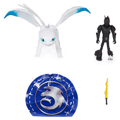 Как приручить дракона 3: игровой набор из меняющего цвет дракона Дневной Фурии и Иккинга
