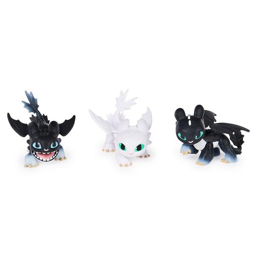 Как приручить дракона 3: игровой набор Малыши драконы Ночного Сияния