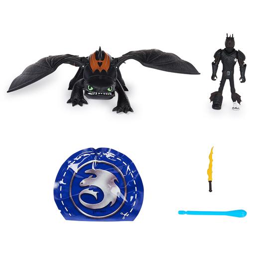 Как приручить дракона 3: игровой набор из меняющего цвет дракона Беззубика и Иккинга