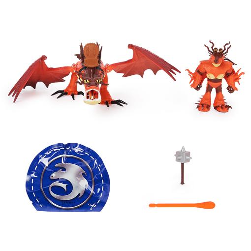 Как приручить дракона 3: игровой набор из меняющего цвет дракона Кривоклыка и Сморкалы