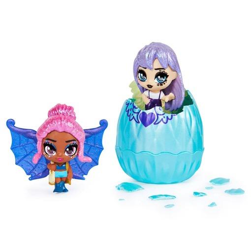 Игровой набор из двух сказочных мини-фей Hatchimals Mini Pixies Блестящие ангелы