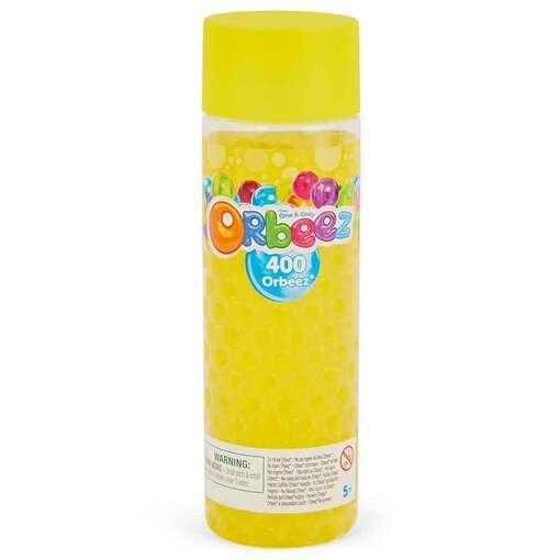 Orbeez: игровой набор шарики Орбиз желтого цвета (400 шт)