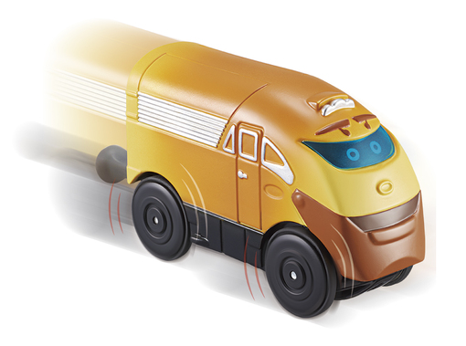 CHUGGINGTON: паровозик Суперчаггер на батарейках