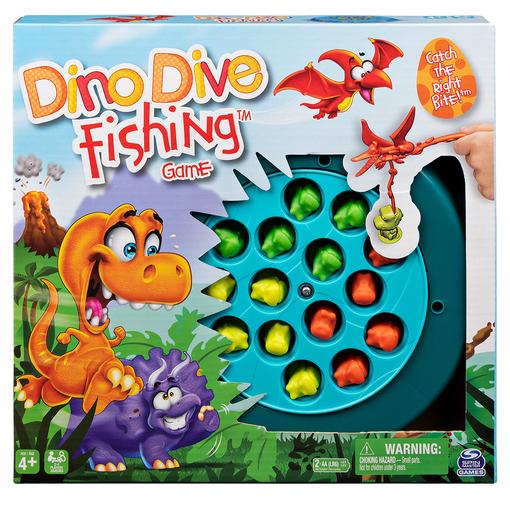 Настольная игра: веселая рыбалка «Динозаврики»