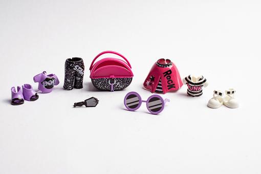 Набор стильных аксессуаров для куклы Oh My Style Дикарка
