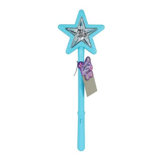 Волшебная палочка со звуковыми и световыми эффектами голубого цвета
