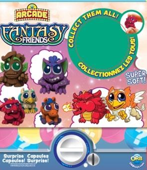 """ORB Arcade: игрушка-сюрприз в шарике """"Фантастические друзья"""""""