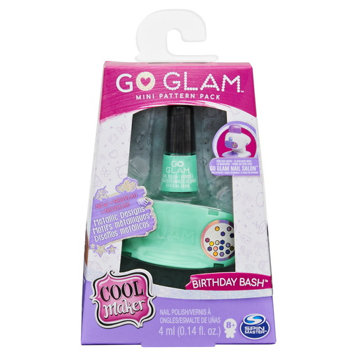 Cool Maker: мини-набор для нейл арта с бирюзовым лаком Go GLAM