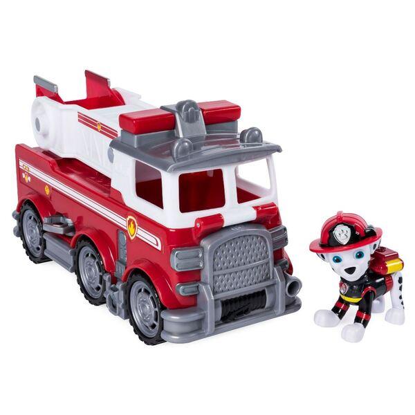 Щенячий патруль Черезвычайная миссия: спасательный автомобиль с водителем Маршал