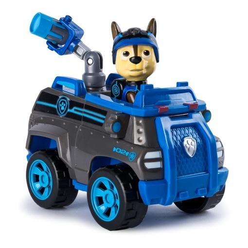 Щенячий патруль тайная миссия: спасательный автомобиль с водителем Гонщик