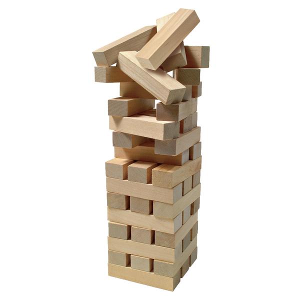 Настольная игра «Дженга» (в жестяной коробке) (Уценка)