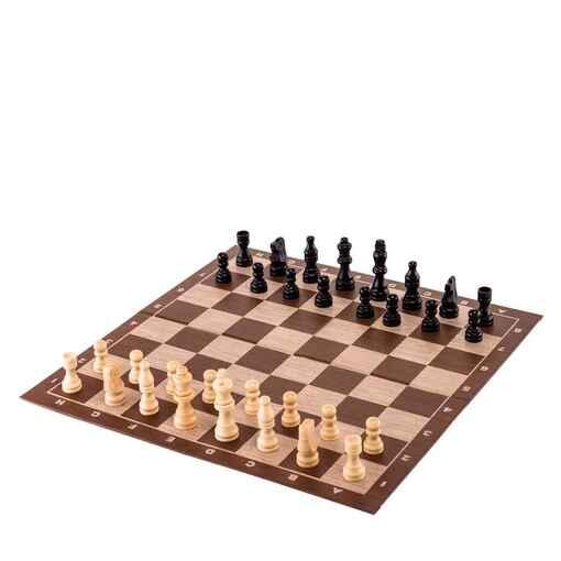 """Настольная игра """"Шахматы"""" (деревянные фигуры)"""