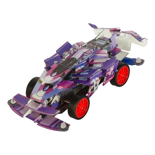 Пазл 3D «Гоночный автомобиль»  фиолетовый (Уценка)