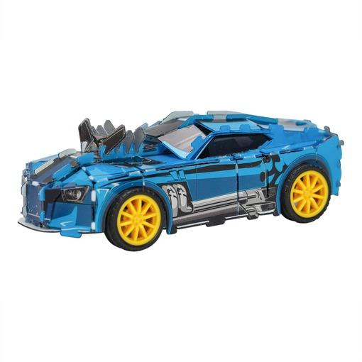 Пазл 3D «Гоночный автомобиль» синий  (Уценка)