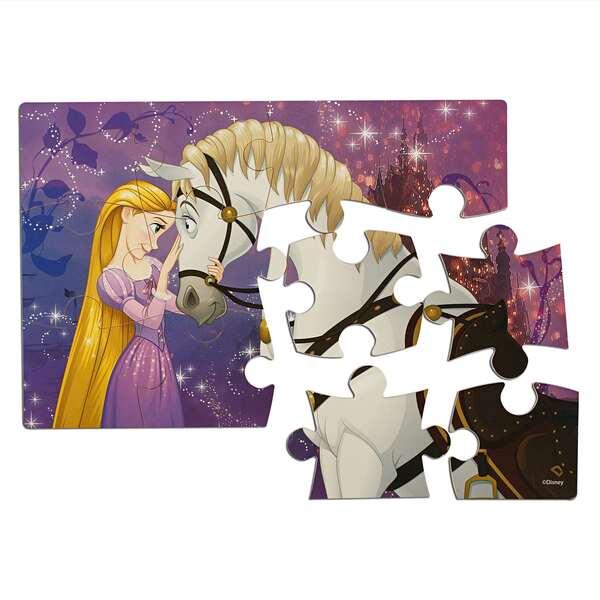 Пазл деревянный 4в1 «Принцессы» (23*15см)