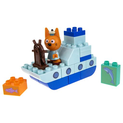 Три кота: игровой набор-конструктор Коржик на корабле