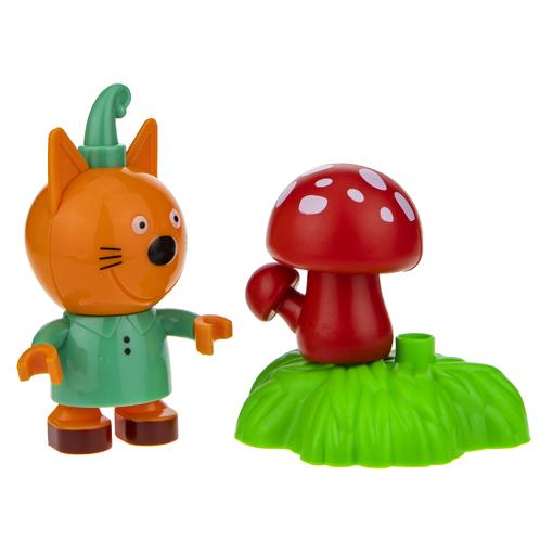 Три кота: игровой набор-конструктор Компот с грибочком