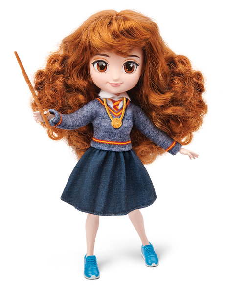 Коллекционная кукла WIZARDING WORLD Гермиона с аксессуарами