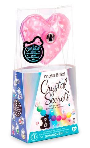 Make it Real: Набор для создания шарм-браслетов «Кристальный секрет»