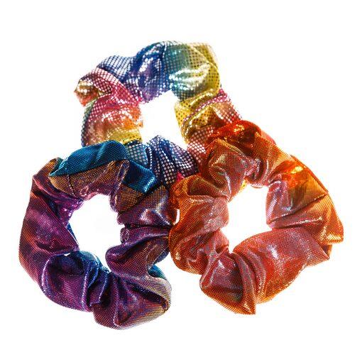 Резинки для волос SCRUNCHIES Цвета радуги