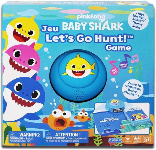 Настольная игра «Baby Shark» с фишками