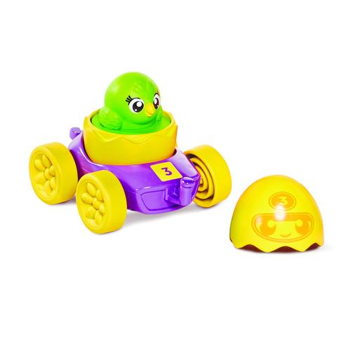 Развивающая игрушка TOMY Моя первая машинка с зеленым цыпленком