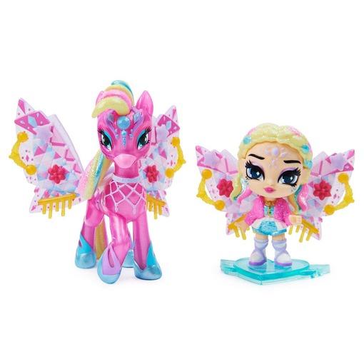 Игровой набор из феи Клер и сказочного персонажа Hatchimals Pixies Дикие крылья