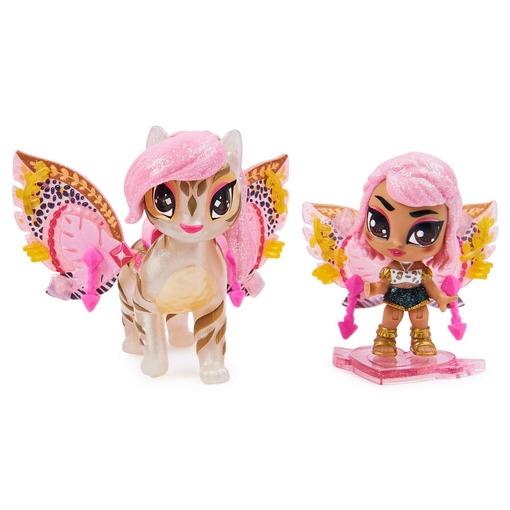 Игровой набор из феи Рейчел и сказочного персонажа Hatchimals Pixies Дикие крылья