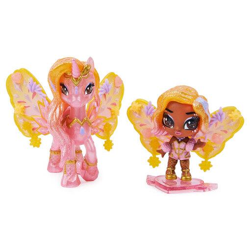 Игровой набор из феи Софи и сказочного персонажа Hatchimals Pixies Дикие крылья