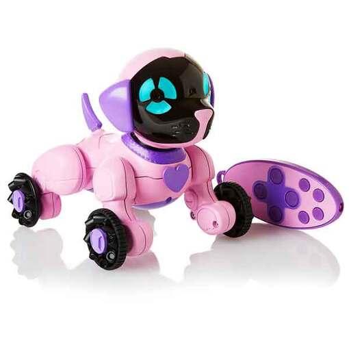 WowWee маленький щенок Чип розовый